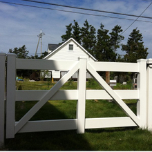 Gate For Rail Fence