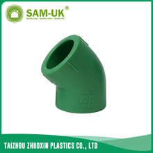 PPR 45 degree elbow for both hot and cold water