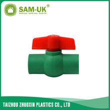 PPR ball valve for both hot and cold water