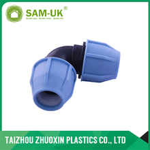 HOT SALE High Quality PP Compression FITTINGS SERIES PP 90DEG ELBOW