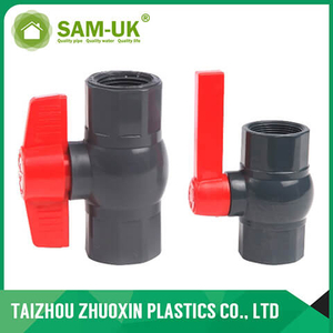 PVC octagonal ball valve ( socket & thread )