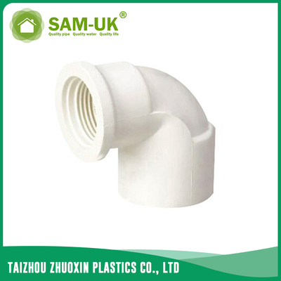 PVC reducing threaded elbow for water supply GB/T10002.2