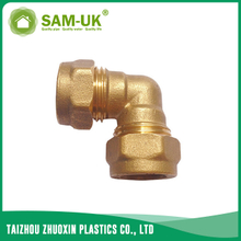 Brass elbow for water supply