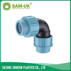 PP 90 degree elbow for irrigation water