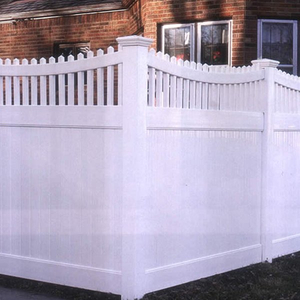 Privacy arched with top picket DY007