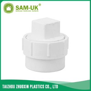 PVC DWV plug for drainage water ASTM D2665