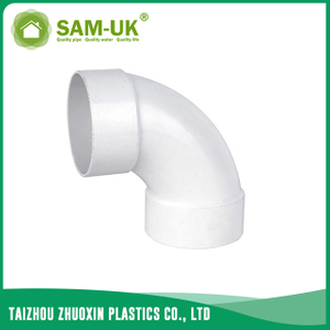 PVC drain pipe bend for drainage water ASTM D2665