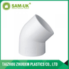 PVC 45 degree elbow for water supply Schedule 40 ASTM D2466