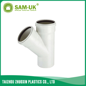 PVC sewer socket wye for drainage water NBR 5688