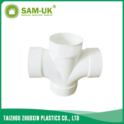 PVC DWV double wye for drainage water ASTM D2665