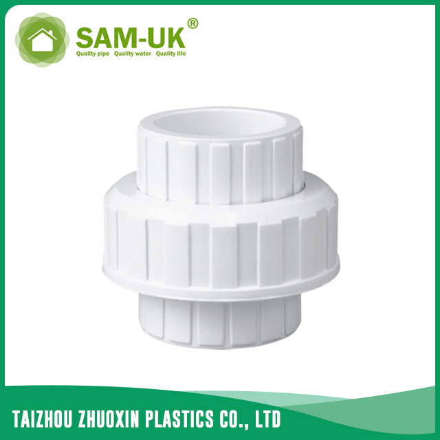 PVC pipe union for water supply Schedule 40 ASTM D2466