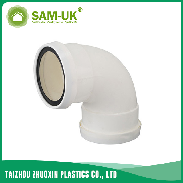 PVC y drain pipe for drainage water