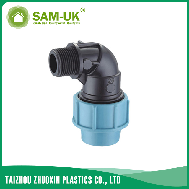 PP male elbow for irrigation water