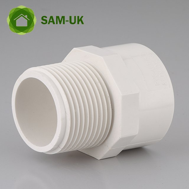 1-1/2 inch schedule 40 PVC pipe threaded coupling