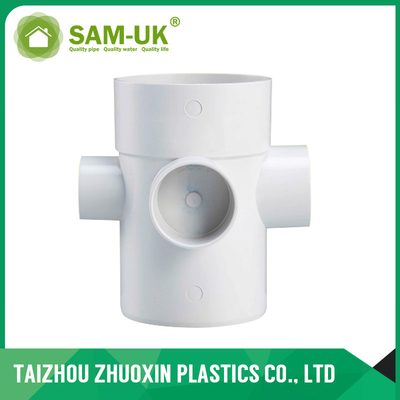 AS-NZS 1260 standard PVC FOUR WAY RISER M/F