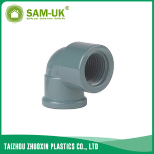 PVC female 90 degree elbow socket x BSPT NBR 5648